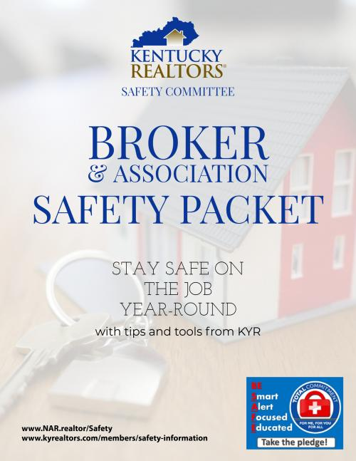 Broker Safety Packet Cover